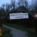 Adventmarkt Krenglbach – die Goldhaubenfrauen waren aktiv dabei