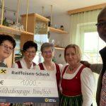 Krenglbacher Goldhaubenfrauen unterstützen Gesundheitsprojekt
